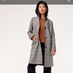 Aritzia Babaton Trent coat size 4 NEW